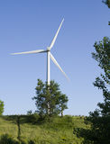 Energia eolica ecologica Fotografia Stock
