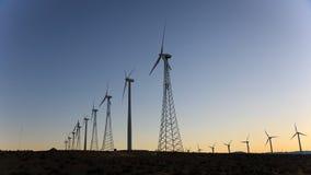 Energia eolica, Palm Spring, California Fotografie Stock Libere da Diritti