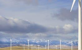 Energia eolico 1 Fotografia Stock
