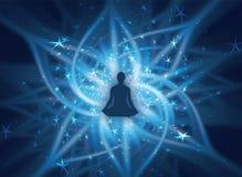 Energia espiritual ilustração stock