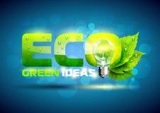 Energia a favor do meio ambiente Imagem de Stock