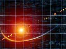 Energia geometria Zdjęcia Stock