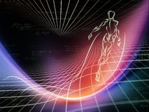 Energia geometria Zdjęcie Royalty Free