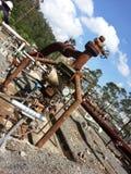 Energia geotermica Immagini Stock