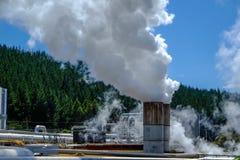 energia geotermiczna Zdjęcia Royalty Free