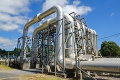 Energia Geothermal Fotografia de Stock