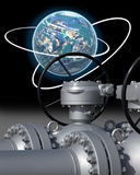 Energia globale Fotografia Stock