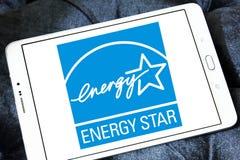 Energia Gwiazdowy logo Zdjęcia Stock