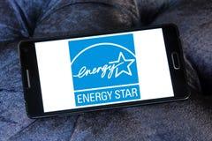 Energia Gwiazdowy logo Zdjęcia Royalty Free