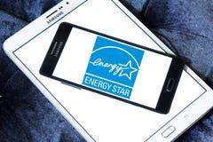 Energia Gwiazdowy logo Zdjęcie Royalty Free