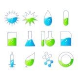 Energia/icona di scienza Fotografia Stock