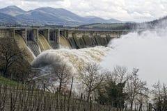 Energia idroelettrica Fotografie Stock