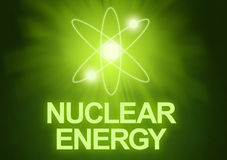 energia jądrowa Zdjęcia Stock
