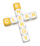 Energia limpa Fotografia de Stock