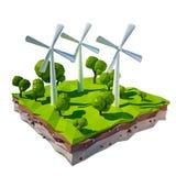 Energia limpa Foto de Stock