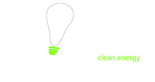 Energia limpa Imagem de Stock