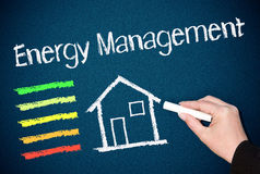 Energia managemant Foto de Stock