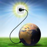 energia nasz planeta royalty ilustracja