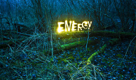 Energia naturale. fotografia stock