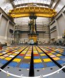Energia nuclear - tampão de pilha do reator nuclear Fotografia de Stock Royalty Free