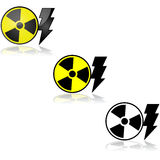 Energia nucleare illustrazione di stock