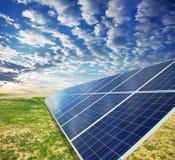 energia odizolowywający przedmiot kasetonuje słonecznego Obraz Royalty Free