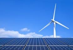 Energia Odnawialna Obrazy Royalty Free