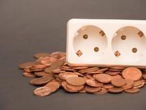 Energia poco costosa Immagini Stock