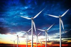 Energia pulita Fotografia Stock Libera da Diritti