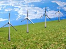 Energia pulita Fotografie Stock Libere da Diritti