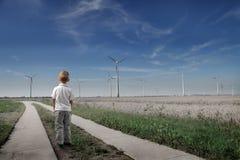 Energia renovável Fotografia de Stock Royalty Free