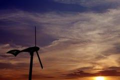 Energia renovável do vento. Imagens de Stock Royalty Free