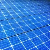 Energia renovável ecológica do painel solar imagem de stock royalty free