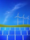 Energia rinnovabile Fotografie Stock