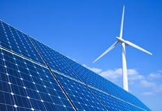 Energia rinnovabile Fotografie Stock Libere da Diritti