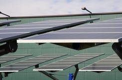 Energia rinnovabile: comitati solari Fotografia Stock