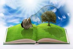 Energia rinnovabile per un mondo pulito Immagini Stock Libere da Diritti