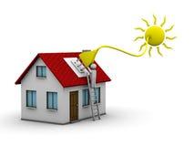 energia słoneczna royalty ilustracja