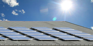 energia słoneczna Zdjęcia Stock