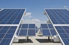 energia słoneczna fotografia stock