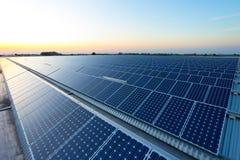 Energia słoneczna Zdjęcia Royalty Free