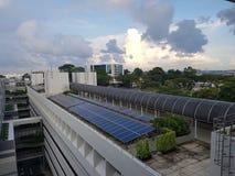 Energia słoneczna Obrazy Royalty Free
