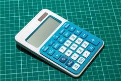 Energia słoneczna kalkulator Zdjęcia Royalty Free