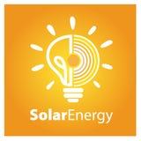 Energia Słoneczna loga ikona wektor Obraz Royalty Free