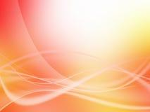 Energia scorrente ondulata astratta Fotografie Stock