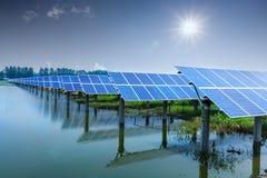 Energia solar Imagem de Stock Royalty Free