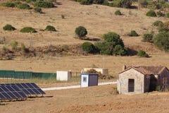 Energia solar Fotos de Stock