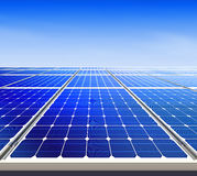 Energia solar alternativa l Fotografia de Stock