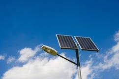 Energia solar renovável Foto de Stock
