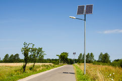 Energia solar renovável Fotografia de Stock Royalty Free